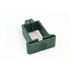 Plastist kergpaneeli kinnitusvõru 40x60 postile, roheline