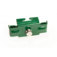 Kergpaneeli metallist kinnitusklamber SG-postile (tsingitud+RAL6005), turvamutriga