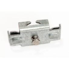 Metallist kergpaneeli kinnitamise klamber SG-postile (tsingitud), turvamutriga
