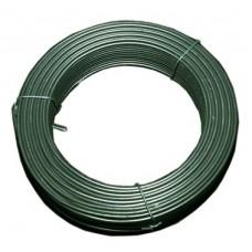 Pingutustraat 2,8- 3,6 mm, PVC RAL6005 100 m/rull