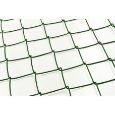 Punutud võrk PVC RAL6005 50x50 2,8 mm, kõrgus 150 cm, 15 m