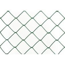 Punutud võrk PVC RAL6005 50x50 2,5 mm kõrgus 1250 25m/rull