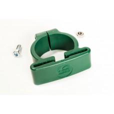 Plastist kergpaneeli kinnitusvõru Ø 50 mm SG-postile, roheline