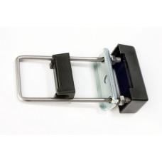 U-kinnitus metallplaadiga 40 x 60 postile