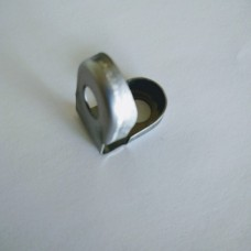 Auxiliary fencing panel clip galvanized